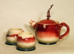 chrome-red-and-blue-goblet-stackable-teapot-with-cups-2-2