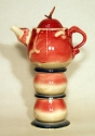 chrome-red-and-blue-goblet-stackable-teapot-with-cups-2